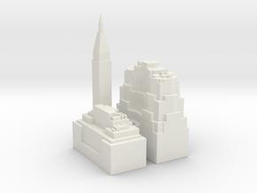 NewYork-sample01 in White Natural Versatile Plastic