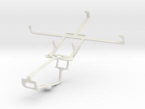Controller mount for Xbox One & Spice Mi-502 Smart in White Natural Versatile Plastic
