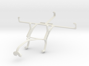 Controller mount for Xbox 360 & Spice Mi-505 Stell in White Natural Versatile Plastic
