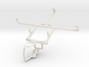 Controller mount for PS3 & Spice Mi-505 Stellar Ho in White Natural Versatile Plastic
