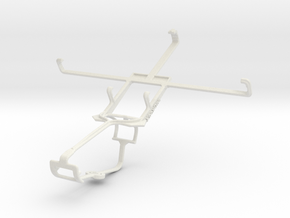 Controller mount for Xbox One & Spice Mi-550 Pinna in White Natural Versatile Plastic