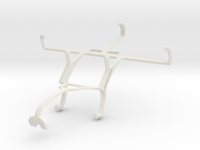 Controller mount for Xbox 360 & verykool RS90 in White Natural Versatile Plastic