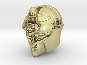 Blackarachnia 19mm Tall Head R in 18K Gold Plated