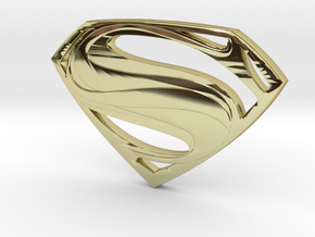 Man Of Steel - Double Sided in 18K Gold Plated
