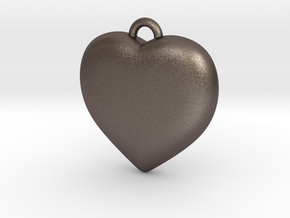 Heart Pendant in Stainless Steel
