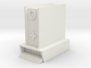 Hospital: Modular Center in White Natural Versatile Plastic