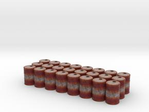 Game Piece, Power Grid, Oil Drum Token Type2 x24 in Full Color Sandstone