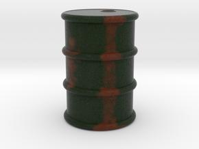 Game Piece, Power Grid, Oil Drum Token Type 1 in Full Color Sandstone