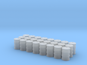 Game Piece, Power Grid, Oil Drum Token Type 1 x24 in Smooth Fine Detail Plastic