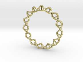 DNA in 18K Gold Plated