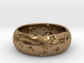 NEREUS Bracelet in Natural Brass