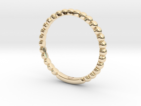 Bubble Ring By Jiang Yuan in 14K Yellow Gold