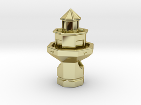 Hilton Head Lighthouse in 18K Gold Plated