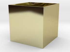BrendoBox 1 cm^3 b.13 in 18K Gold Plated