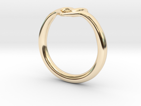 Heart Ring in 14K Yellow Gold