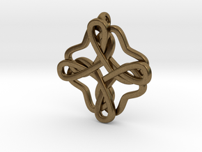 Friendship knot in Natural Bronze