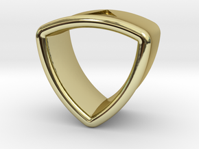 Stretch Shell 18 By Jielt Gregoire in 18K Gold Plated
