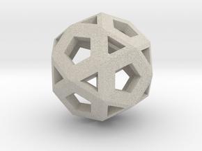 Logic Hypercube in Natural Sandstone