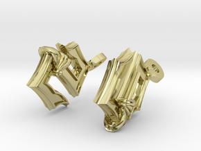 Sabaton Earrings in 18K Gold Plated