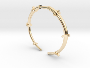Revival Horn Cuff - Small in 14K Yellow Gold