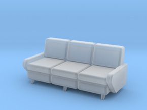1:48 Moderne Davenport in Smooth Fine Detail Plastic