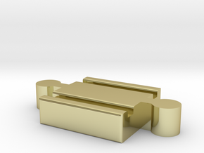 Ikea LILLABO M-M Connector 40mm in 18K Gold Plated