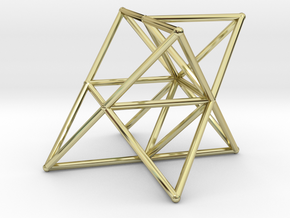 Rod Merkaba Supports OpenBase 2cm in 18K Gold Plated