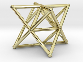 Rod Merkaba Supports OpenBase 3cm in 18K Gold Plated
