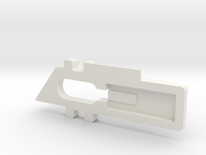 Window Lock 2 in White Natural Versatile Plastic