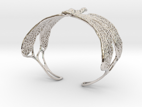 Dragonfly sizes XS-XL in Rhodium Plated Brass: Extra Small