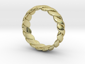 Torus Ring in 18K Gold Plated