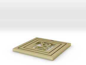 Coaster Square in 18K Gold Plated