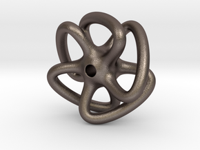 Dodecahydra in Polished Bronzed Silver Steel