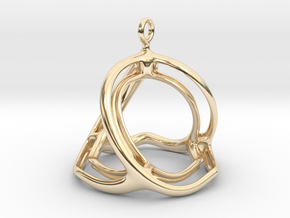 Spherohedron in 14k Gold Plated Brass