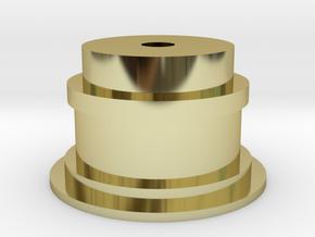 Film Pulley Wheel : Super8 format for film scanner in 18K Gold Plated