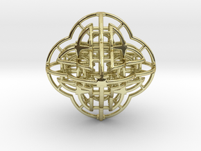 Fractal 113 in 18K Gold Plated