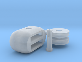 hoist pulley block ( assembling ) in Smooth Fine Detail Plastic