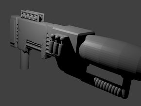 Electron Assault Rifle for Transformers in White Strong & Flexible