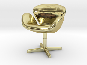 Arne Jabobson - Swan Chair in 18K Gold Plated