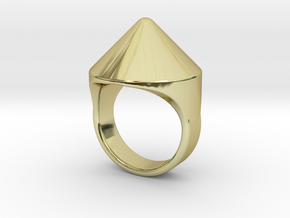 Awesome Teaser Ring in 18K Gold Plated
