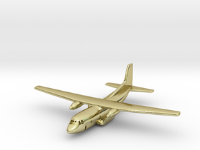 1:700 Transall C-160 military transport aircraft  in 18K Gold Plated