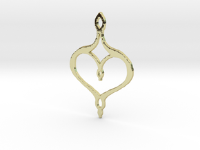 :Perfect Valentine: Pendant in 18K Gold Plated