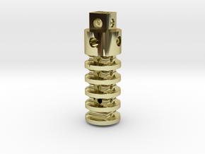 SALE New SUPER Trit Lantern ( sans GTLS vial ) in 18K Gold Plated