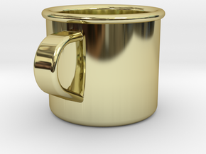 1/6 Scale WWII British Drinking Cup (1) in 18K Gold Plated