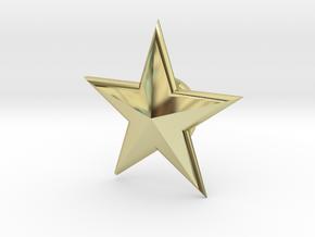 SSM-STAR-BASICloft 1.00 in 18K Gold Plated
