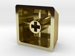 Legend of Zelda - Hyrule/Royal Crest (R4, 1x1) in 18K Gold Plated