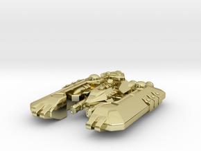Badakh Battleship in 18K Gold Plated