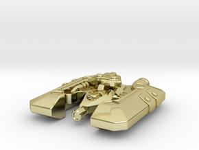 Badakh Frigate in 18K Gold Plated