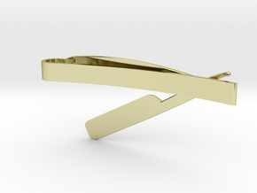 RAZOR MONEY/TIE CLIP in 18K Gold Plated