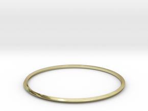 Mobius Bracelet in 18K Gold Plated